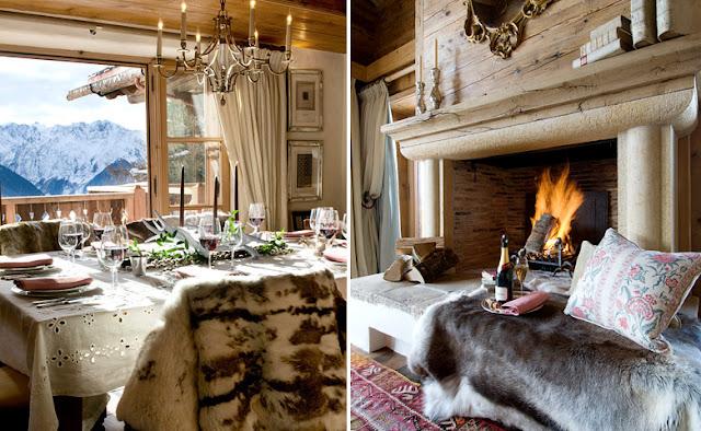 casa en los alpes suizos