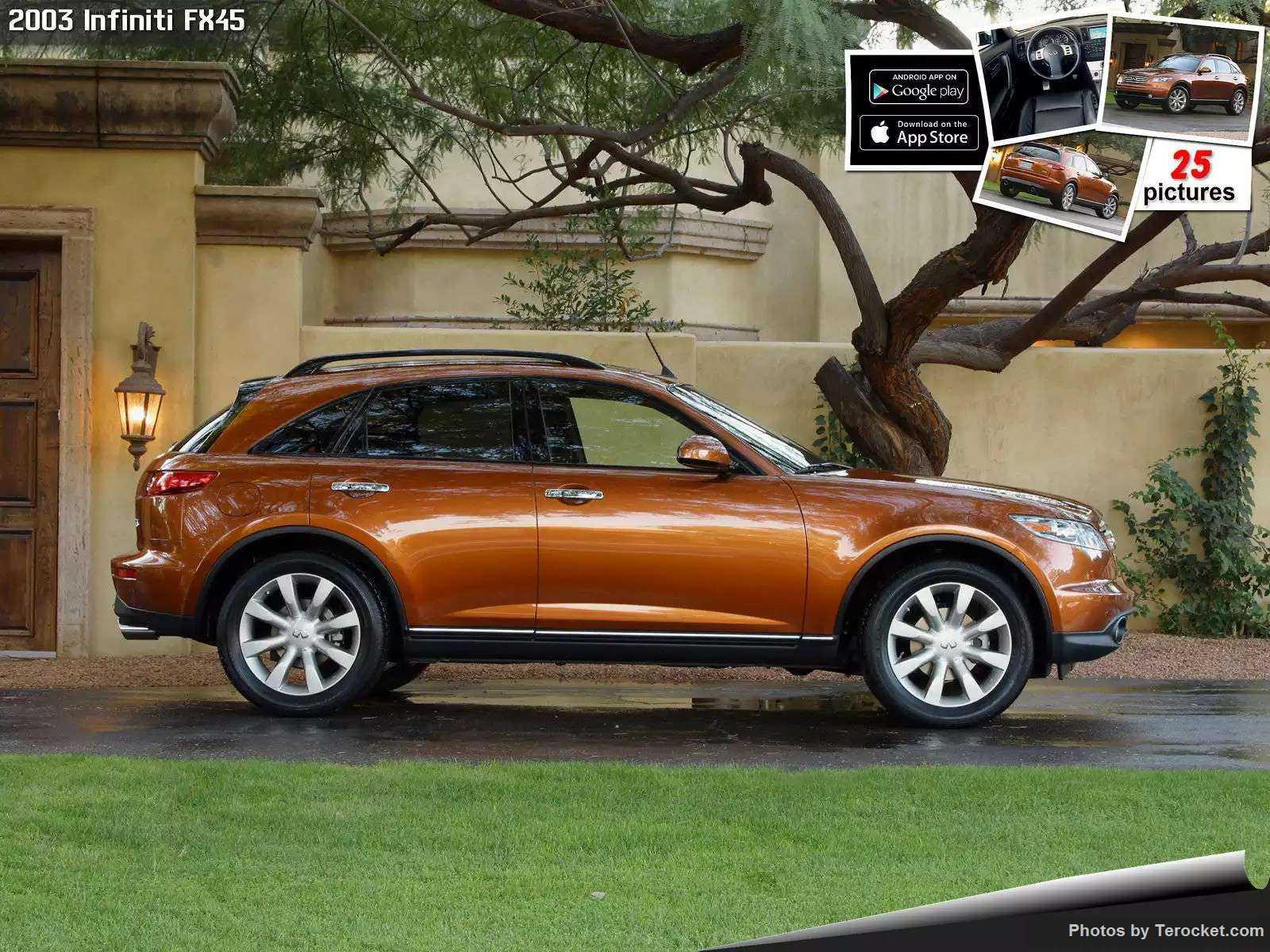 Hình ảnh xe ô tô Infiniti FX45 2003 & nội ngoại thất