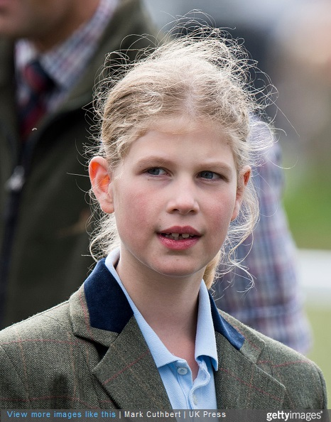 Lady Louise Windsor attends the Royal Windsor Horse show in the private grounds of Windsor Castle on May 15, 2015 in Windsor, England.