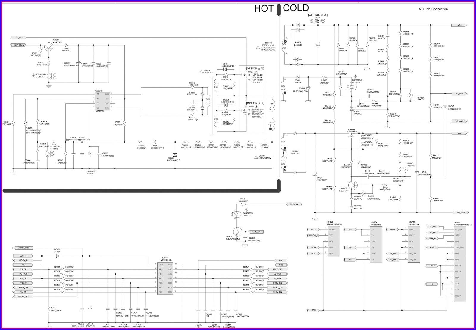 Схемы блоков питания самсунг bn44 57