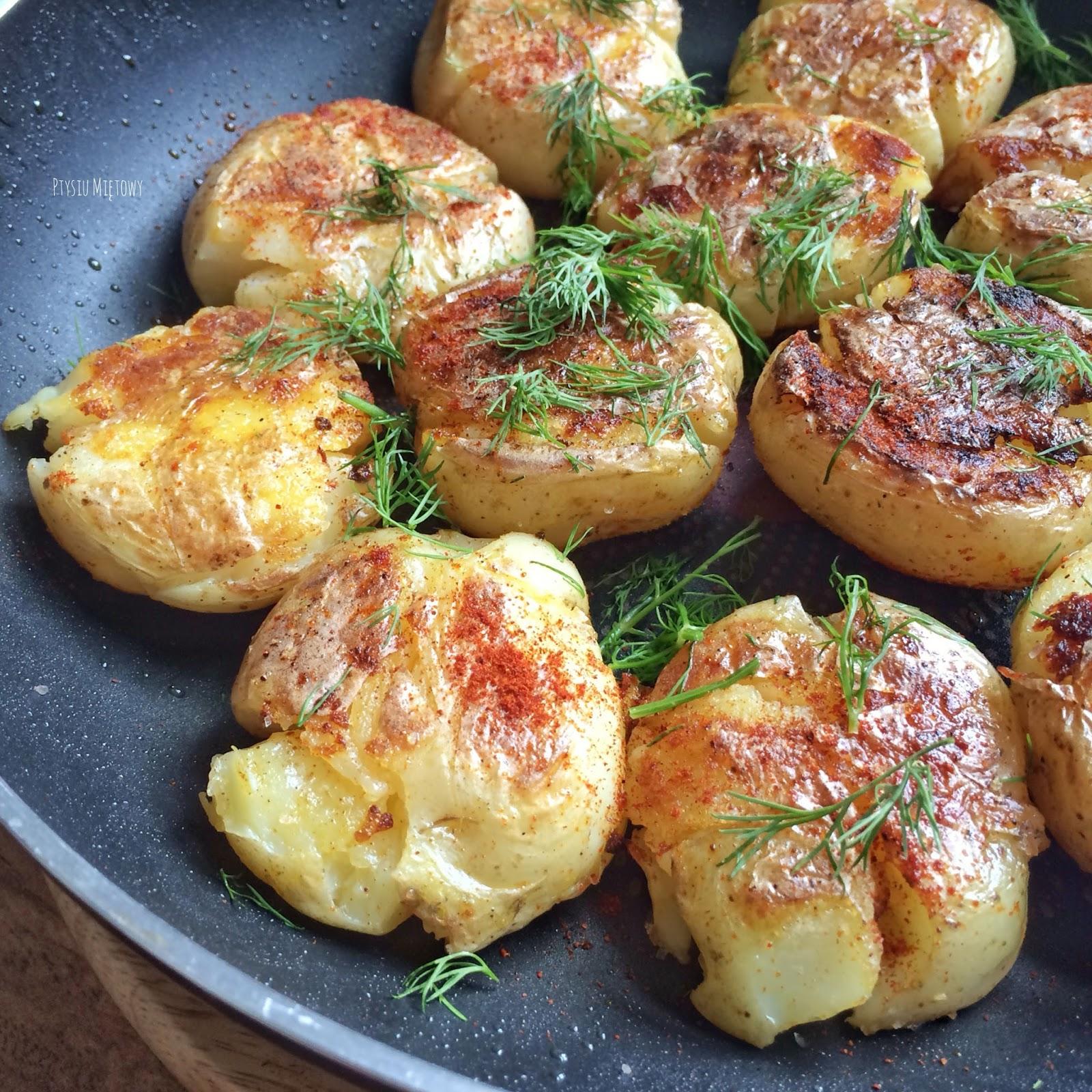 ziemniaki, ptysiu mietowy