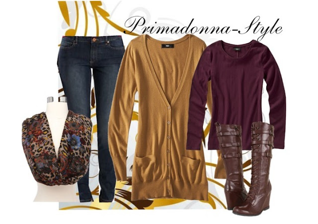 How to wear a wedge boot brown Mia Ursela