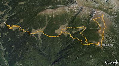 GPS Monte Cima