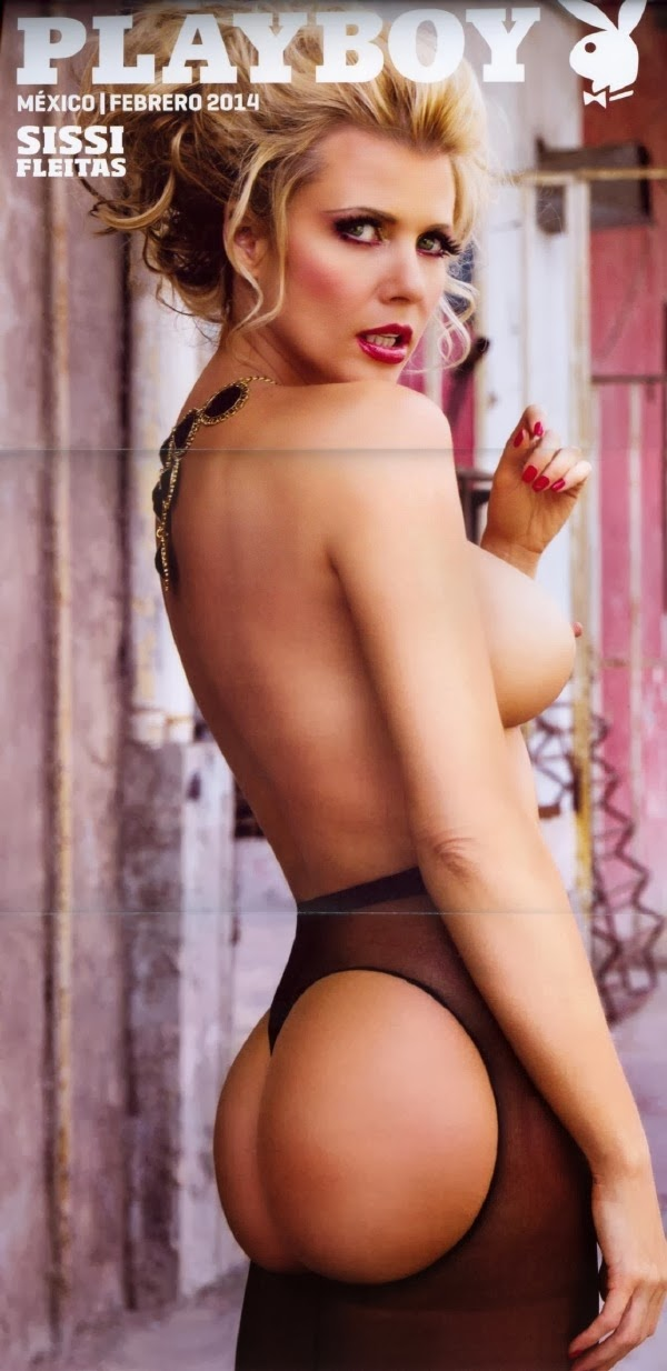 Sissi Fleitas Playboy M Ico Febrero