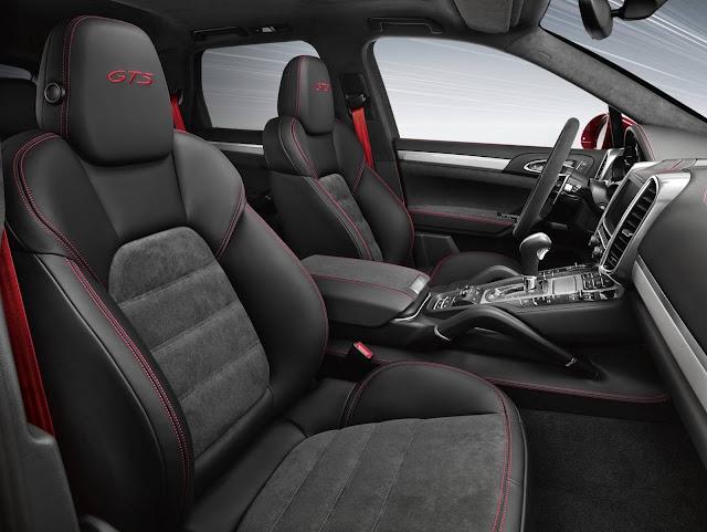 Porsche Cayenne GTS - Brasil - interior