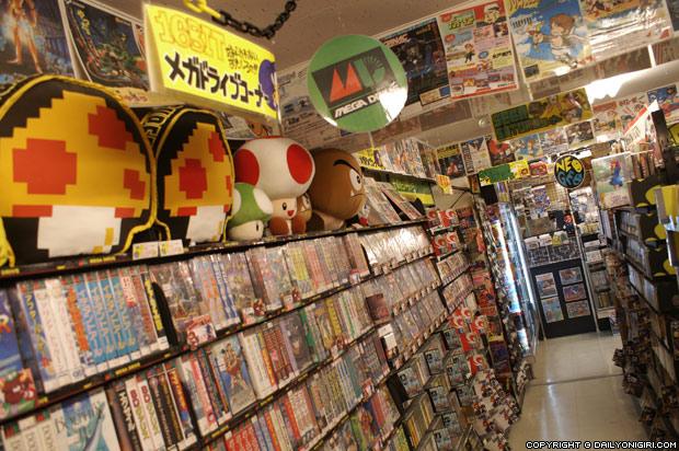 Super Potato Game Shop Akihabara