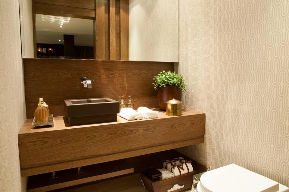 decoracao lavabo apartamento – Doitricom -> Banheiro Pequeno Lavabo