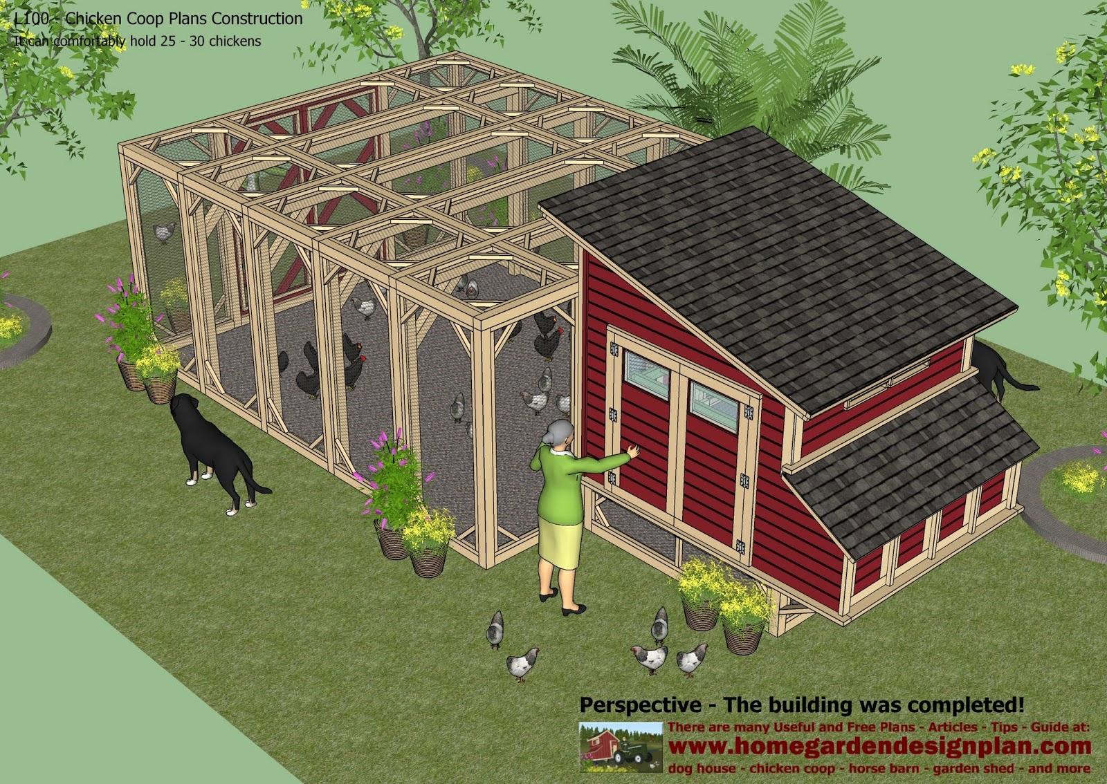 Chicken Coop Design - How To Build A Chicken Coop