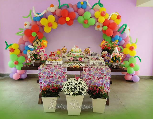 mesa de festa infantil jardim encantado : mesa de festa infantil jardim encantado:LOVE DECOR: FESTA JARDIM ENCANTADO DA LUANA