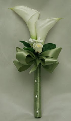 Simple Silk Calla Lily Wedding Flowers Wedding Guidelines