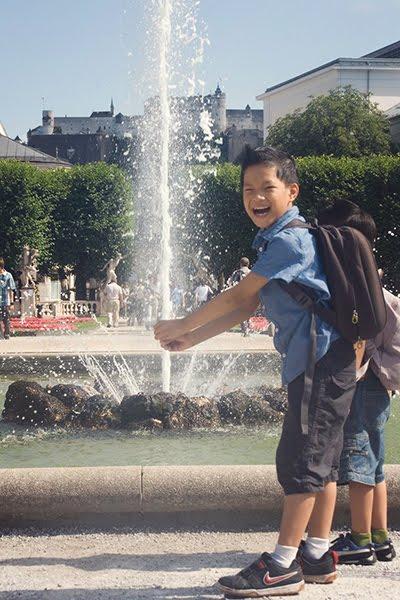 mirabell salzburg fountain