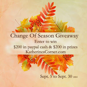 Change of Season Giveaway!