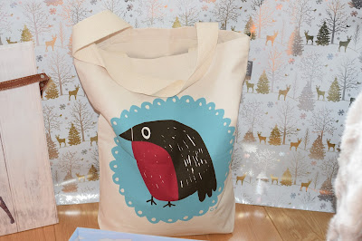 Mr Robin Bag by Katy Webster - Christmas Gift Guide 2015 - Emma in Bromley