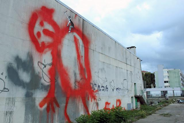 Street Art By Ella & Pitr On The Streets Of Saint-Etienne, France
