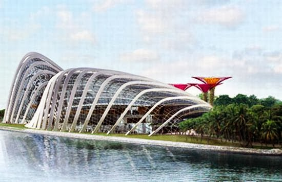 Gardens by the Bay Facade