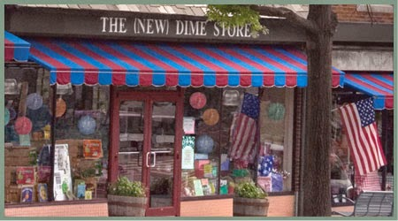 The New Dime Store in Brookside, Missouri