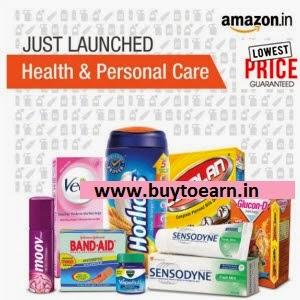 Health & Personal Care upto 83% off from Rs. 30 @ Amazon