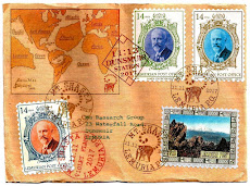 LEMURIAN STAMP COVERS