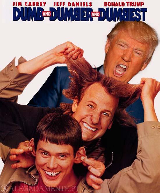 Imagem de Donald Trump – DUMB - BUMBER - DUMBEST