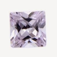 lavender square cubic zirconia