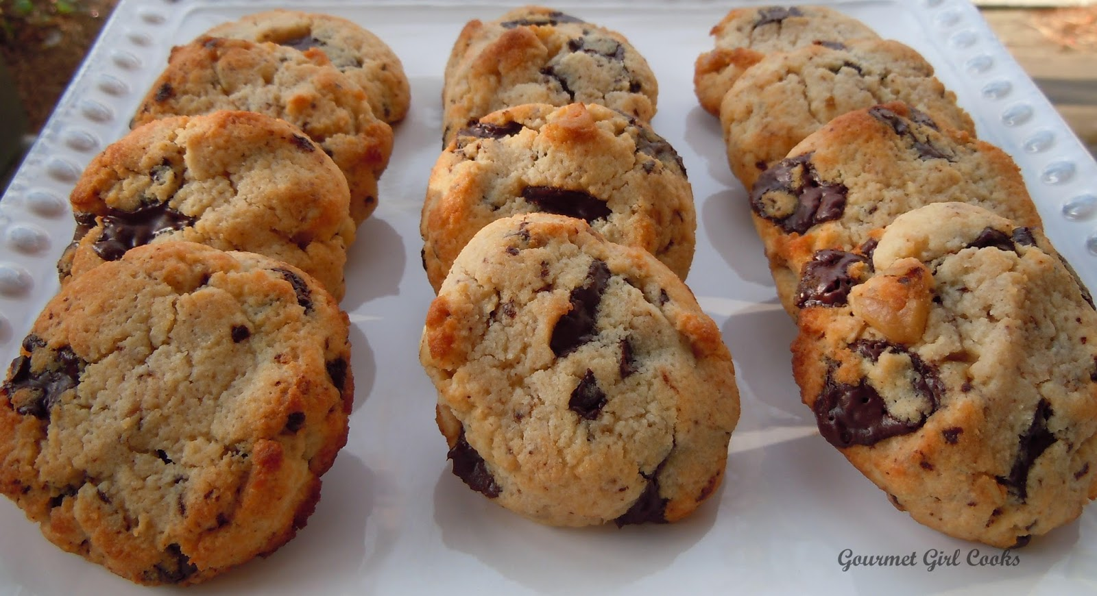 Gourmet Girl Cooks: Chocolate Chip Cookies at the Beach!