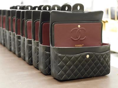 Interior bolso 2.55 Chanel negro