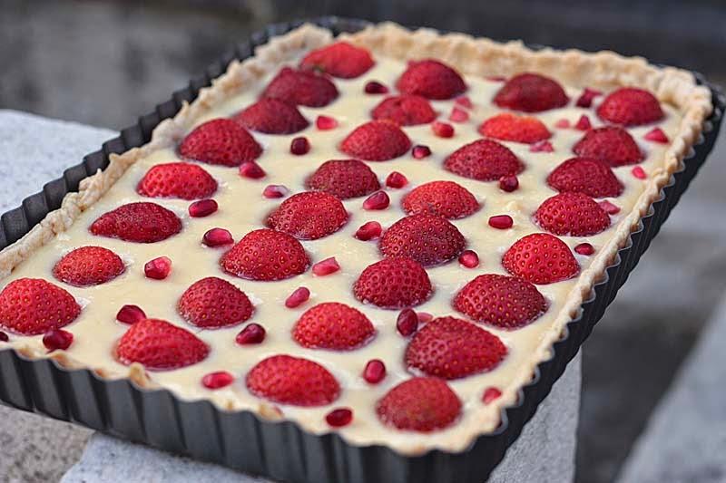 ... tarts strawberry custard tart white balsamic custard tart img 2808