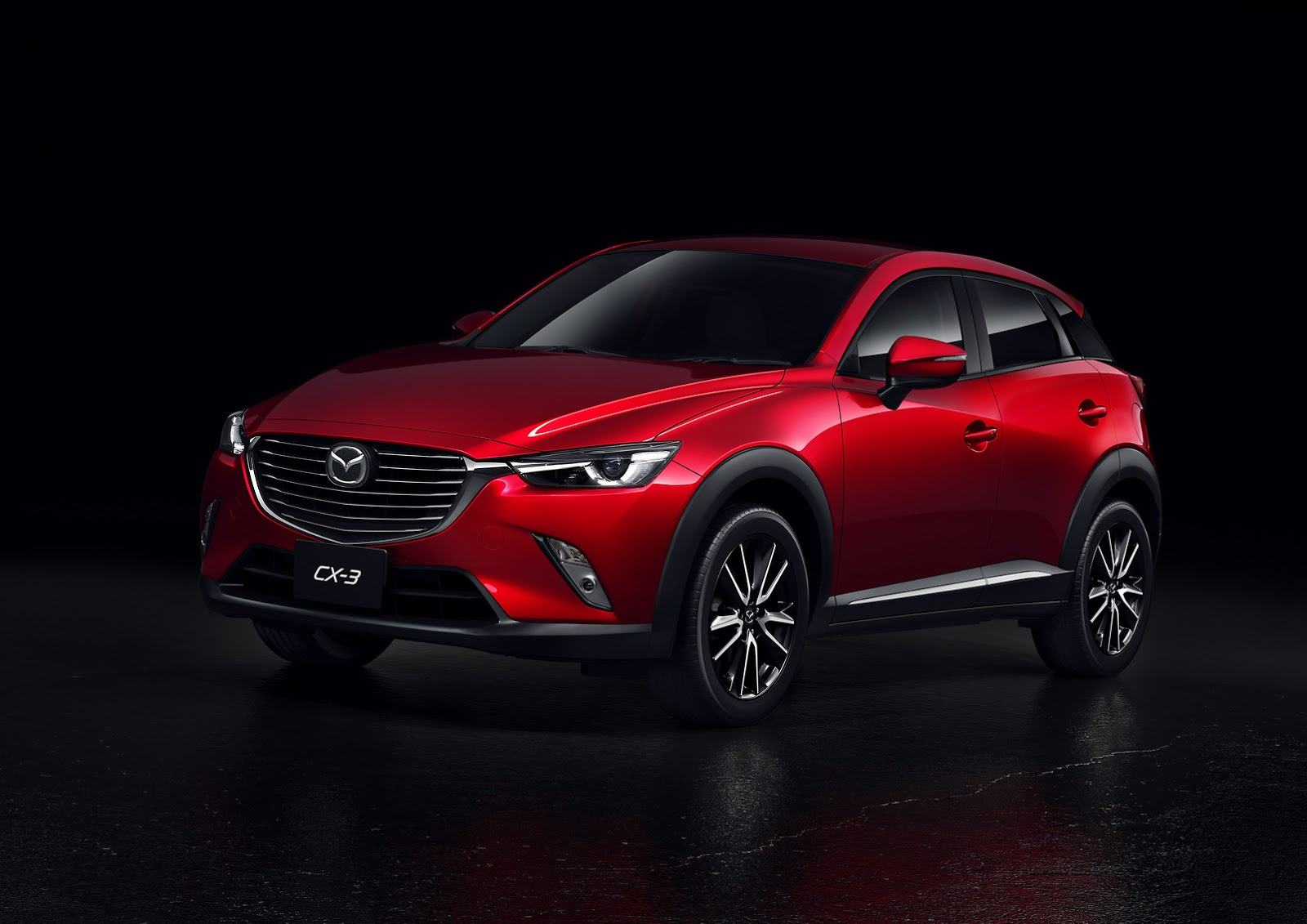 new mazda cx 3 starts from 19 960 in the usa carscoops. Black Bedroom Furniture Sets. Home Design Ideas