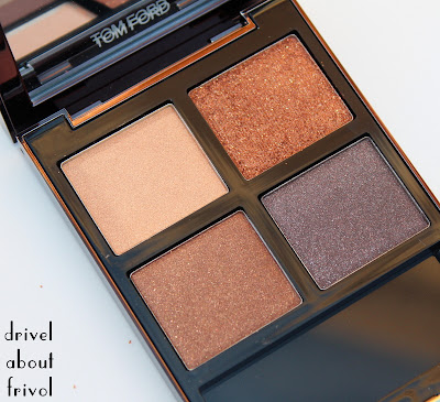 Tom Ford Cognac Sable Eyeshadow Quad palette