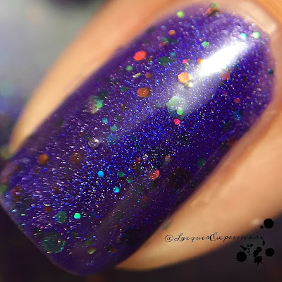 Something Strange nail polish by Bear Pawlish