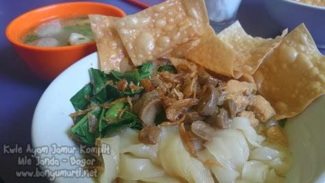 Kuliner Bogor - Mie Janda