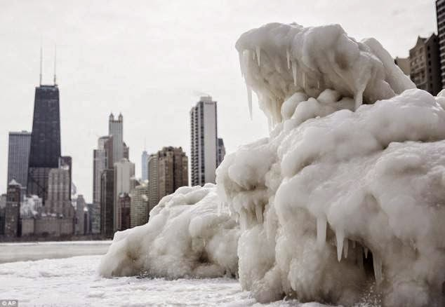 Chicago, Illinois - For Those Who Don't Travel. This Is What America Looks Like...Frozen