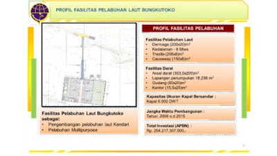 Perencanaan Pembangunan Pelabuhan Bungkutoko Kendari