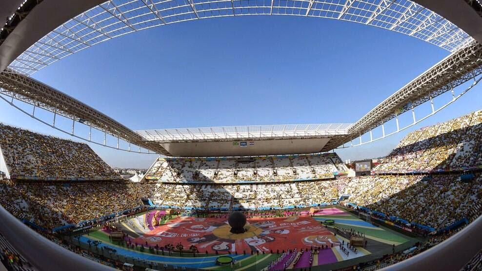 Pembukaan Piala Dunia 2014 Berlangsung Meriah