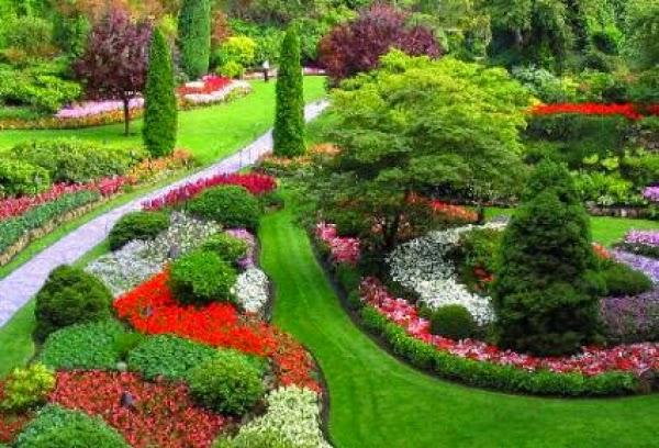 Decoraci n de jardines en apartamentos cascadas y jardines - Diseno de cascadas para jardin ...