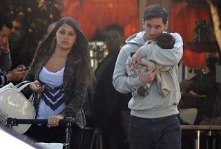 inovLy media ; Ballon d'Or Keempat Didedikasikan Messi untuk Keluarganya