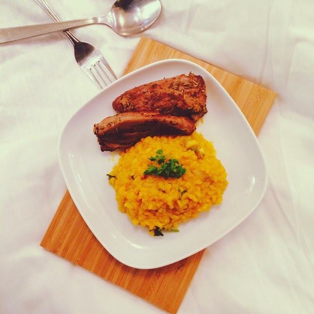 Homemade Pumpkin Risotto Recipe