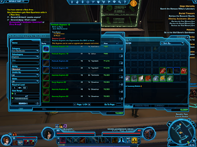 SWTOR - Augments