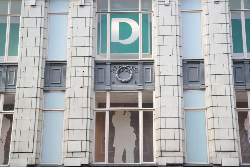 Deco building, now Deichmann