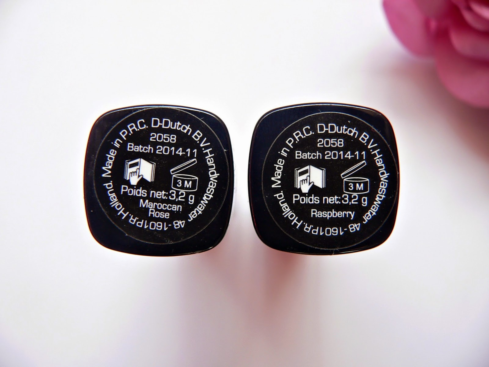 lipstick-addict.nl, review, swatches, lipstick, lipsticks, action, max&more, budget, roze, shoplog, maroccan rose, raspberry