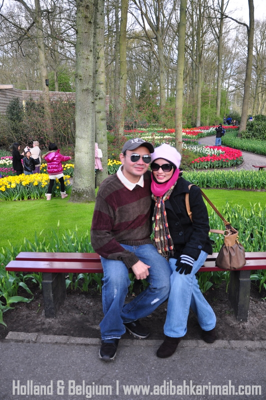 holiday to holland and belgium with premium beautiful at keukenhof with dr hasbi