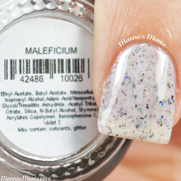 Pretty and Polished Maleficium swatches