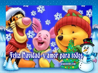 Winnie the Pooh en Navidad