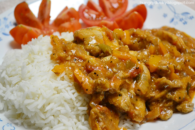 Hungry Ducky: Jamaican Brown Stew Chicken