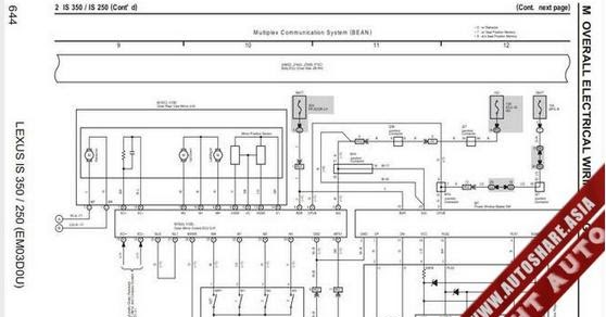 en oto hui com lexus is350  250 2007 wiring diagram