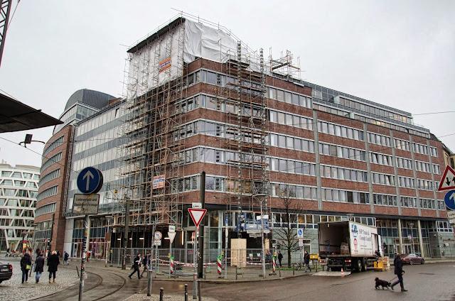 Baustelle Stadtbahnbogen / Eggerstrasse, 10178 Berlin, 10.12.2013