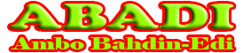 Abadi (AmboBahdin-edi)