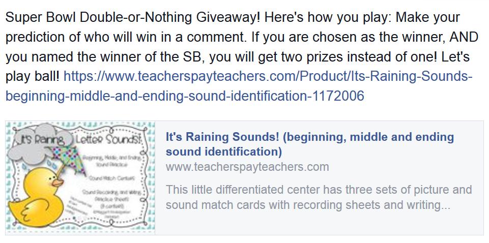 https://www.teacherspayteachers.com/Product/Its-Raining-Sounds-beginning-middle-and-ending-sound-identification-1172006