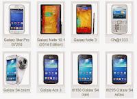 Daftar Harga HP Handphone Samsung November 2013