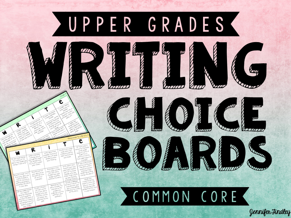 http://www.teacherspayteachers.com/Product/Writing-Choice-Boards-4th-6th-Grade-1560547